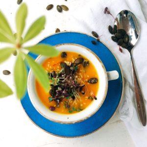 Rezepte wildkitchen.at kategorie Suppe wild kitchen kuerbissuppe