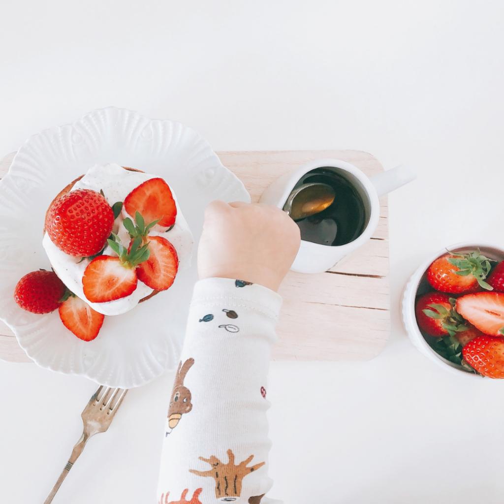 Maronipancakes low carb zuckerfrei gesunde Ernährung abnehmen