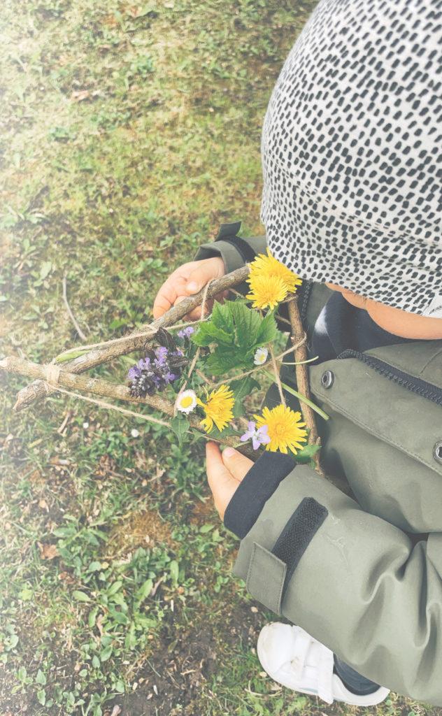 Kinder Kraeuterkurs Gmuend Wildkitchen Anna Nicklaus Kraeuterrahmen DIY